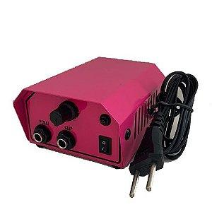 Fonte Analógica para 1 máquina - New Fontes - Rosa