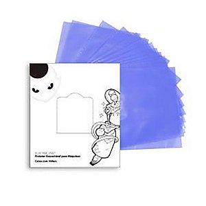 Protetor para Máquinas - Electric Ink - Azul