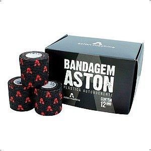 Bandagem 12un -  Aston  - Preta