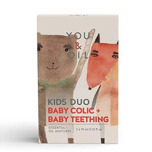 Kit Óleos Essenciais - Cólica Infantil + Primeiros Dentes