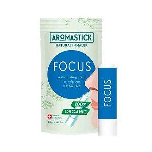 Aromastick Focus - Inalador Nasal Orgânico & Natural para Foco
