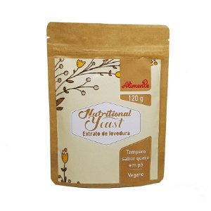 Nutritional Yeast Extrato de Levedura Sabor Queijo 120g