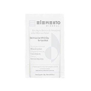 Bio Argila Branca Da Amazônia 30g - Elemento Mineral