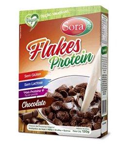 Flakes Protein Sora Sabor Chocolate Vegano 120g