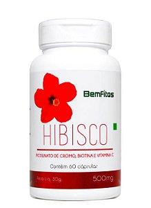 Hibisco Veg 60caps 500mg
