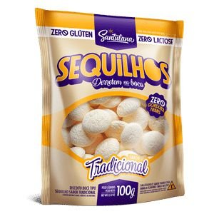 Sequilhos Tradicional Vegano 100g - Santulana