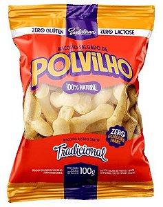 Biscoito de Polvilho Vegano 100g -Santulana