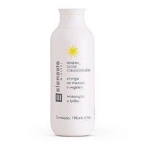 Condicionador Mineral Gloss Hidratação E Brilho 190ml - Elemento Mineral