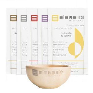 Kit Revitalizante Bio Argilas - Elemento Mineral
