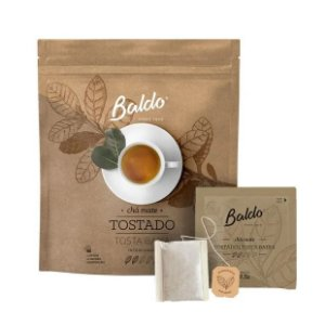 Chá Mate Tosta Baixa 10x2,5gr - Baldo