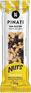 Barra Pinati Nuts Banana 30g - Super Saúde