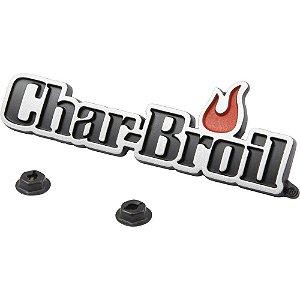 Logo Char-Broil p/ Tampa de Churrasqueira
