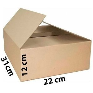 Caixa de Papelão para Correios 100 unidades