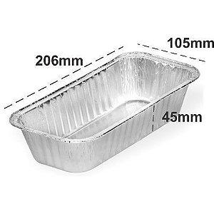 Embalagem Alumínio Marmita Bolo 100 unidades