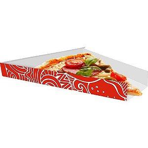 Caixa Embalagem para fatia de Pizza 100 unidades