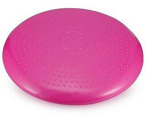 Disco De Equilíbrio Rosa Balance Cushion Inflável Almofada 33cm
