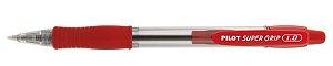 Caneta Esferográfica Super Grip 1.0 Vermelha - Pilot
