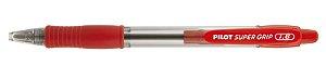 Caneta Esferográfica Super Grip 1.6 Vermelha - Pilot