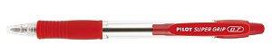 Caneta Esferográfica Super Grip 0.7 Vermelha - Pilot