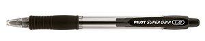 Caneta Esferográfica Super Grip 1.0 Preta- Pilot