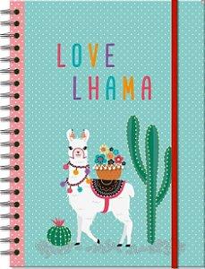Caderno Universitário Lhama - 96 folhas - Fina Ideia