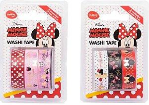 Washi Tape Minnie Mouse - 3 un - Molin