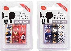 Washi Tape Mickey Mouse - 3 un cada - Molin