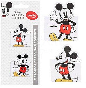 Marcador de Página Magnético - Mickey Mouse - Molin