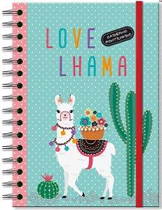 Caderno Pontilhado - Lhama - Fina Ideia