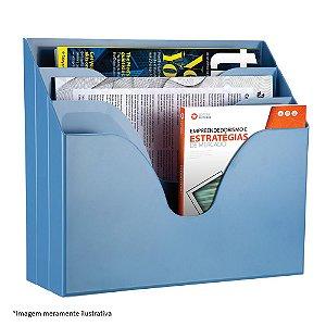 Organizador Triplo Office - Com três compartimentos - Maxcril