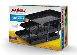 Caixa para correspondência - Tripla Móvel-Branca - Waleu