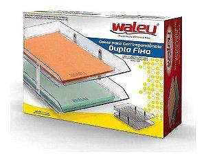Caixa para correspondência - Dupla Fixa - Waleu