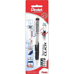 Lapiseira Twist Eraser Click 0.7  - Pentel