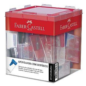 Apontador com depósito - Faber-Castell