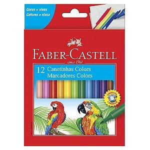 Canetinhas Colors - Faber-Castell 12 un