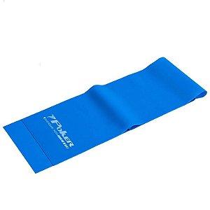 Faixa Elástica Poker Tensão Médio- 1200x150x0.6mm Azul