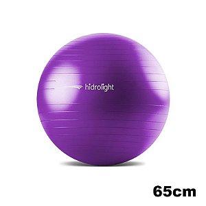 Bola de Exercícios 65 cm Hidrolight Roxo