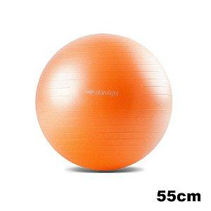 Bola de Exercícios 55 cm Hidrolight Laranja