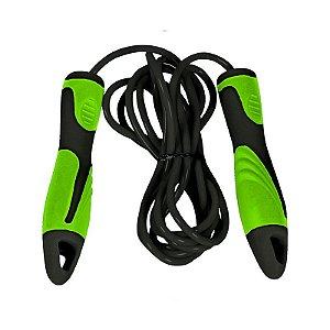 Corda de PVC com rolamento Poker Verde/Preto