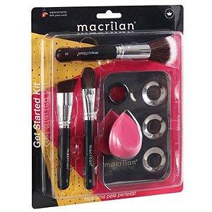 Kit Get Started Com 3 pincéis - Macrilan