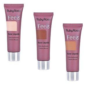Base Líquida Feels Ruby Rose