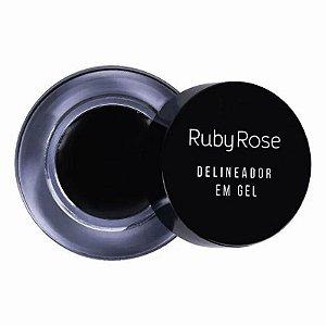 Delineador Em Gel Black - Ruby Rose