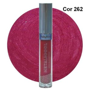 Batom Líquido Metalizado - Ruby Rose