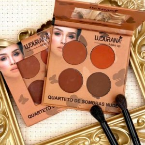 Quarteto De Sombras Nude Matte - Ludurana