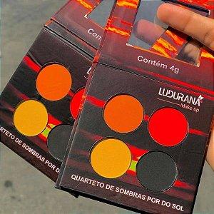 Quarteto De Sombras Por Do Sol Matte - Ludurana