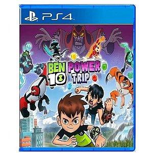 Jogo para PS4 / Bem 10 uma super viagem