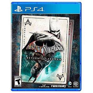 Jogo Game Batman Return to Arkham - PS4