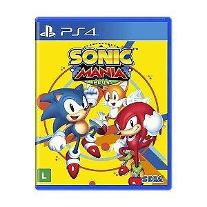 Jogo para PS4 / Sonic Mania