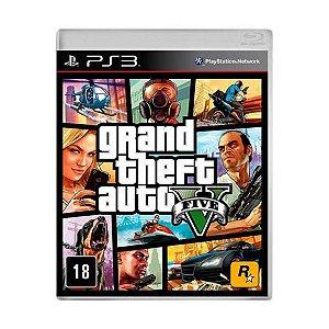 Jogo Game Grand Theft Auto V Gta 5 Ps3
