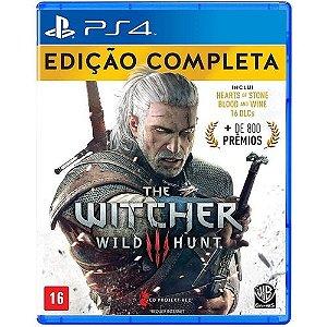 Jogo para PS4 / The Witcher Wild Hunt